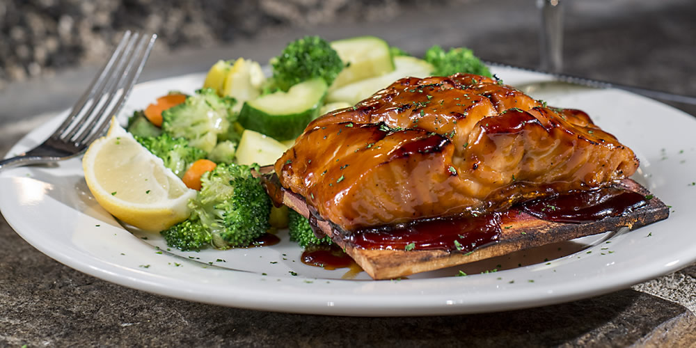 Copper River Grill Hickory Fired Salmon